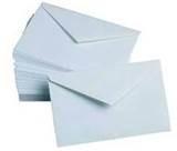 Enveloppen om Lichtzakken in te versturen 10 stuks
