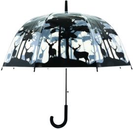 Paraplu Doorzichtig met Hert