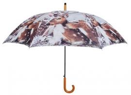 Paraplu Hert Liggend