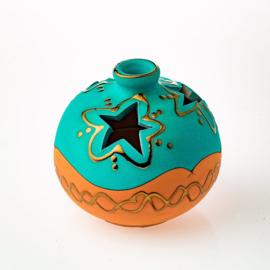 Sierpot Terracotta Turquoise