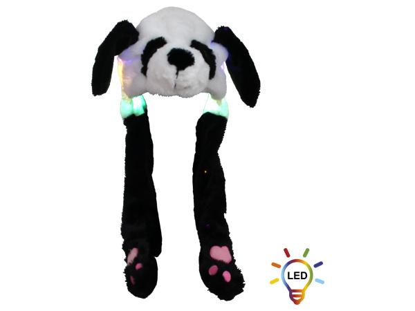 Muts Panda Wiebeloren en LED verlichting