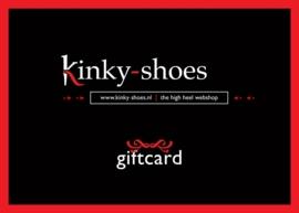 Giftcard / kadobon € 100,-