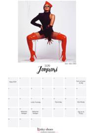 High heels kalender 2019 (zelf printen!)