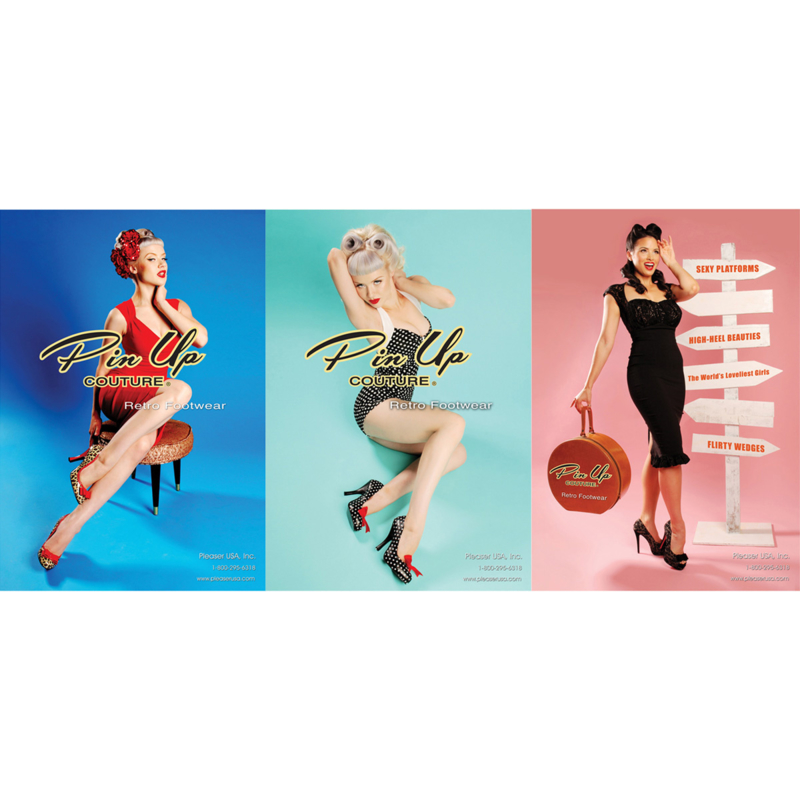Pinup posters - 3 x