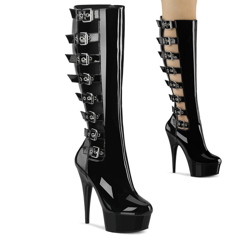 Delight 2047 | laarzen grote maten (> 43) | Kinky shoes