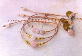 Bracelet RoseQuartz - `Unconditional Love`