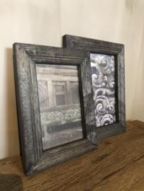 Fotolijstjes in zwart hout 2 maten