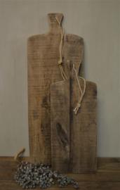 Stoere houten broodplank M