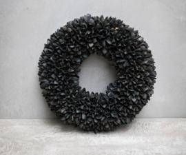 Mooie krans Old black 30 & 40 cm
