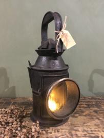 Oude spoorweg lantaarn