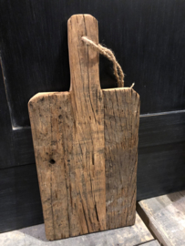 Stoere broodplank oud hout -Large-