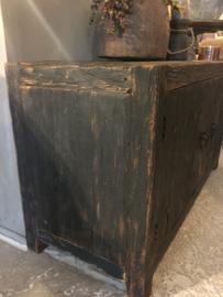 Stoer tv kastje / kastje Old black 100 cm
