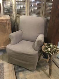 Prachtige landelijke fauteuil met losse hoes ~Anka~