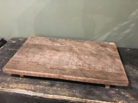 Mooi plateau van oud hout
