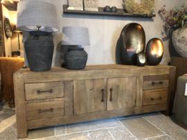 Prachtig robuust tvmeubel van oud hout 160 & 200 cm - 3 kleuren