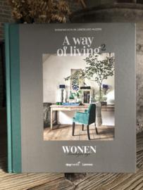 Boek 'A way of living 2' Wonen Landelijke Stijl