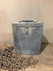 Leuke zinken koffer