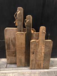 Stoere broodplank oud hout -small-