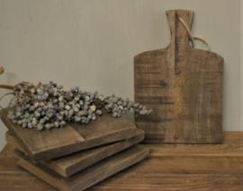 Stoer houten amuseplankje/ broodplank S