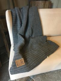 Prachtig grijs plaid Jay van Kitfactory