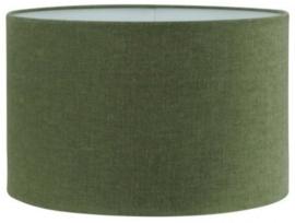 Cilinder kap kleur Mossgreen