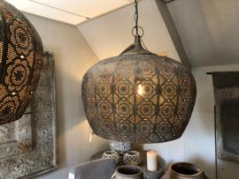 Prachtige hanglamp metaal