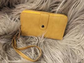 Portemonnee geel