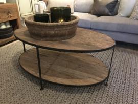 Mooie ovale salontafel