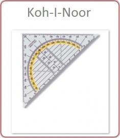 Geodriehoek 14 cm