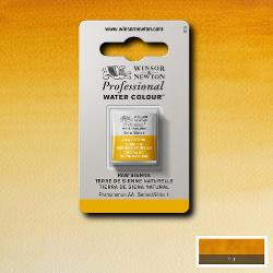 W&N Pro Water Colour ½ nap Raw Sienna S.1