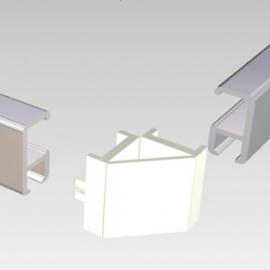 Stas combicap voor minirail set 2 stuks Wit