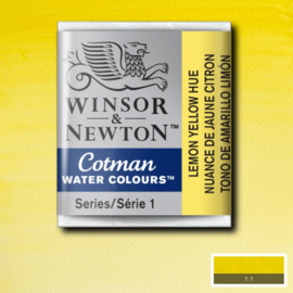 Cotman Lemon Yellow Heu 1/2 napje