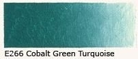 E-266 Cobalt green turquoise light 40ml