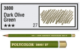KIN-Polycolor nr.27   Dark Olive Green