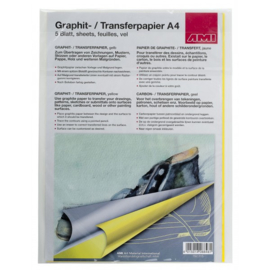 AMI Transfer papier A4 Geel