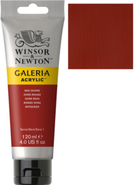 no.564- Galeria Acrylic Red ochre 120 ml tube