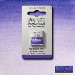 W&N Pro Water Colour ½ nap Ultramarine Violet S.2