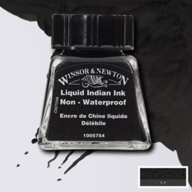 Winsor en Newton  Drawing Inkt Liquit Indian INk