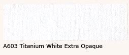 A-603 Titanium White Ex. Dekkend Acrylverf 60 ml