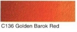 C136-Golden barok red