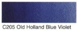 C205-OH bleu violet (OH watercolour 6ml tube)