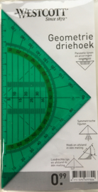 Westcott Geodriehoek Groen