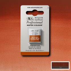 W&N Pro Water Colour ½ nap Venetian Red S.1