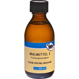 Malzeit Slow dry medium voor olieverf 200 ml