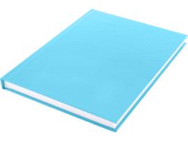 Dummy  A5 Wit papier-hard cover Pastel blauw 80 vel