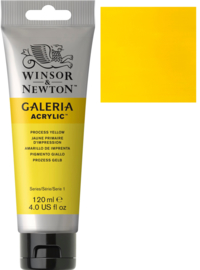 no.537 - Galeria Acrylic Process (Primair) yellow 120 ml tube