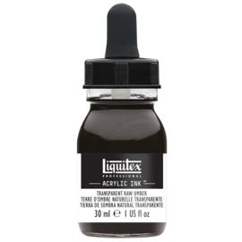 Liquitex Acrylic ink TRANSPARENT RAW UMBER