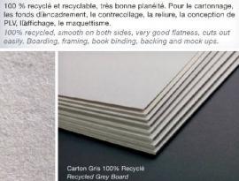 CF-Karton-grijs 600grams 60x80cm 10vel
