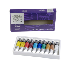 Winsor & Newton   water mixable olieverf startersset 10 x 21 ml