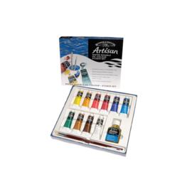 Winsor & Newton   water mixable olieverf studio set